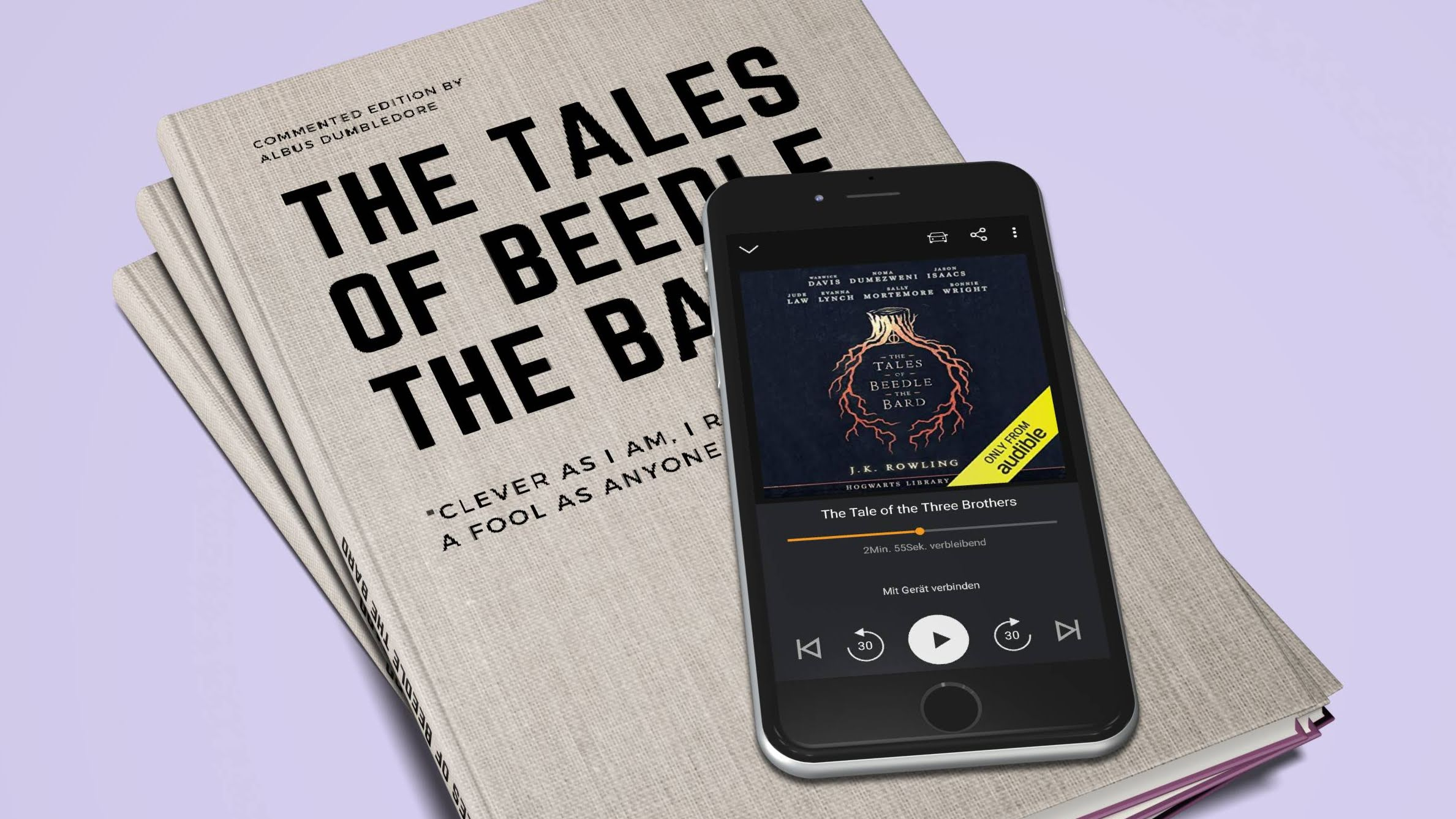 Tales of Beedle the Bard auf Audible
